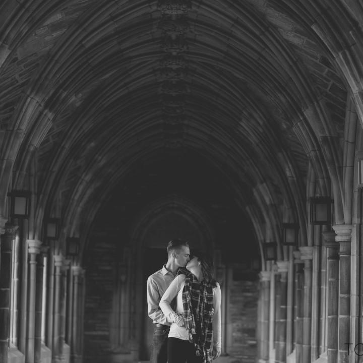 CORNELL UNIVERSITY ENGAGEMENT PHOTOGRAPHS : HILLARY + WILL